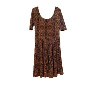 Tribal print Nicole dress